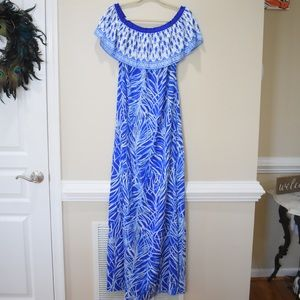Lilly Pulitzer Early Riser Alicia Maxi Dress NWT